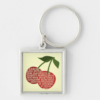 Cherry Complete Pi Keychain