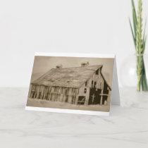 Cherry Creek Barn Holiday Card