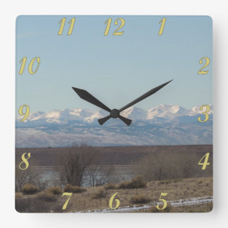 Cherry Creek State Park Landscape Square Wall Clock