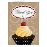 Cherry Cupcake Bakery Thank You Cards