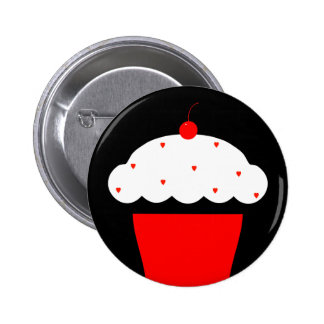 cherry cupcake button