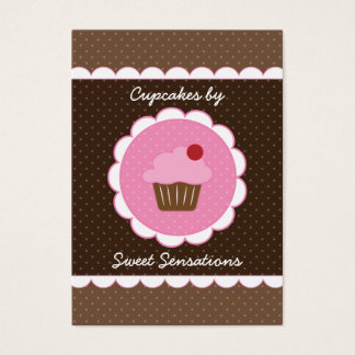 Cherry Cupcake Chubby Business Card