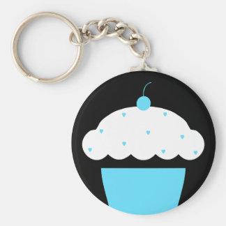 cherry cupcake keychain