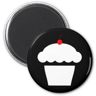 cherry cupcake refrigerator magnets