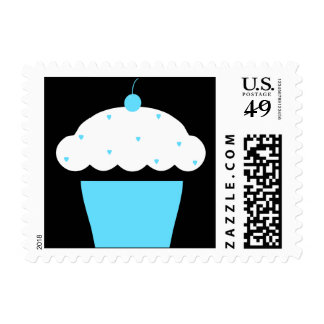 cherry cupcake postage