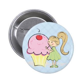 Cherry Cupcake Reward Button
