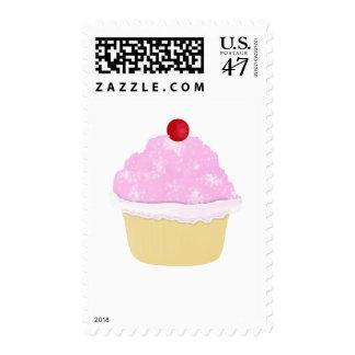 cherry Cupcake - stamp
