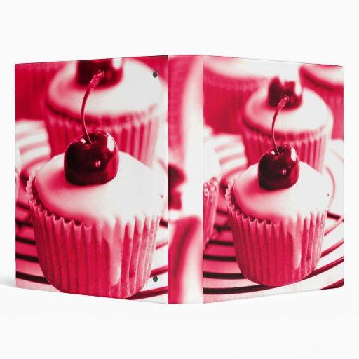 Cherry Cupcakes Binder
