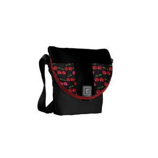 Cherry delight messenger bags