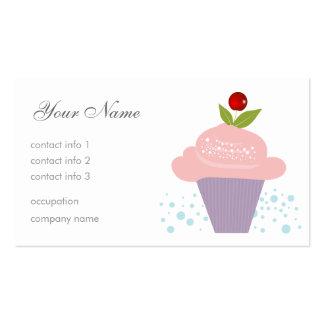 Cherry Dessert Business Cards