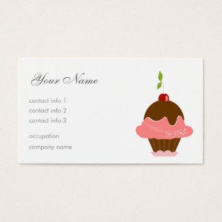Cherry Dessert Business Card
