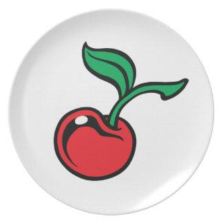 Cherry Dinner Plate