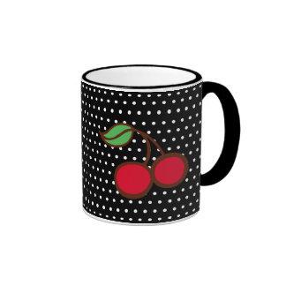 Cherry Dots Mug