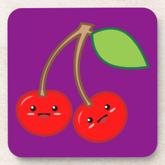Cherry Drink Coaster