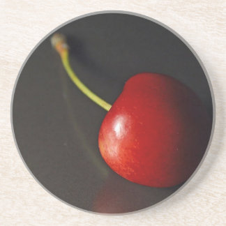 Cherry Drink Coasters