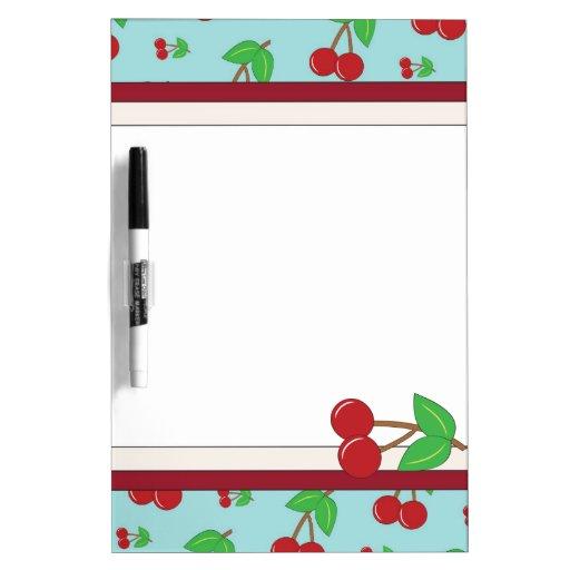 Cherry Dry Erase Board