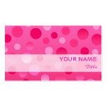 Cherry Fizz business card template