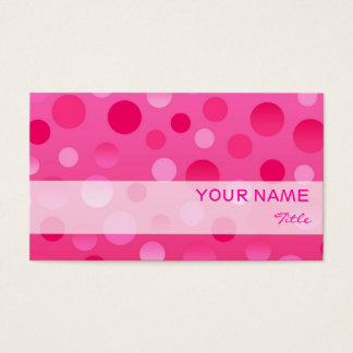 Cherry Fizz business card template