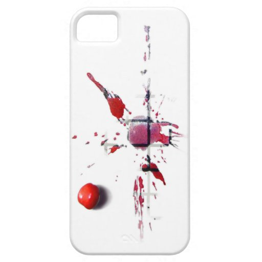 Cherry flat iPhone 5 covers