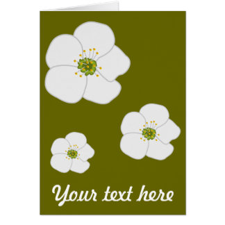 Cherry Flower Greeting Cards