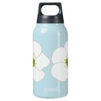 Cherry Flower Insulated Water Bottle