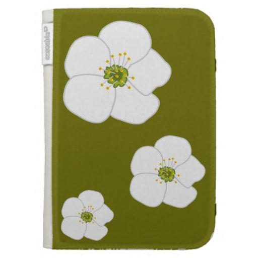 Cherry Flower Kindle 3 Covers