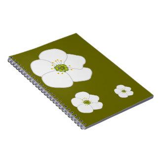 Cherry Flower Note Book