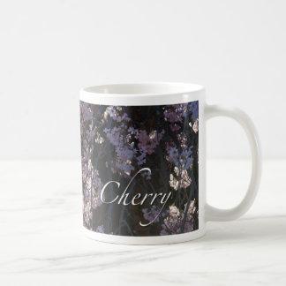 Cherry Flowers Coffee Mugs