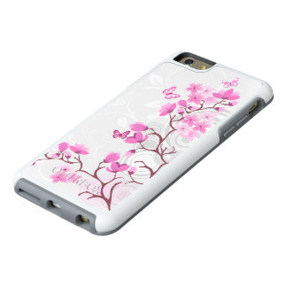 Cherry Flowers OtterBox iPhone 6 Plus Case