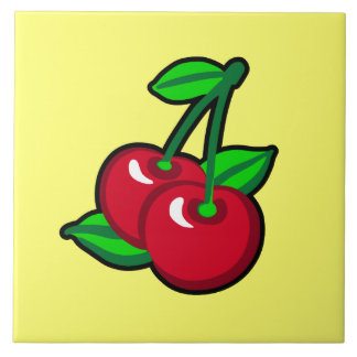 Cherry for cherry pickers ceramic tile