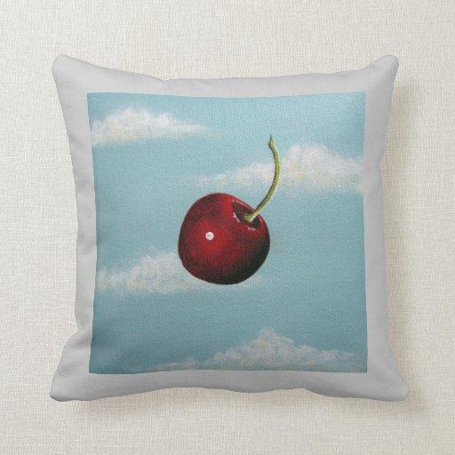 Cherry Free Fall Pillow