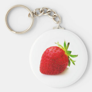 Cherry Fruit Health Remind Healthy Pink Passion Be Basic Round Button Keychain