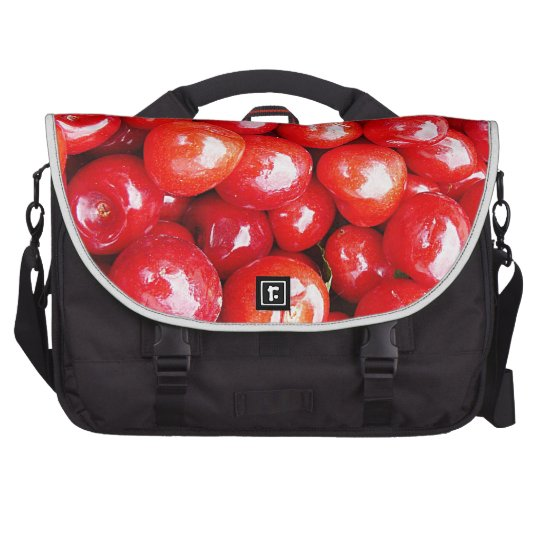 Cherry Fruit Health Remind Healthy Pink Passion Be Computer Bag
