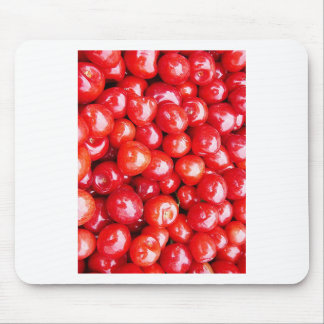 Cherry Fruit Health Remind Healthy Pink Passion Be Mouse Pad