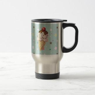 Cherry Fudge Icecream Travel Mug