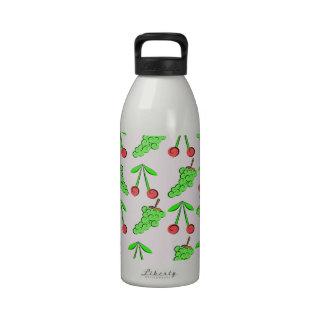 Cherry Grapes jpg Drinking Bottles