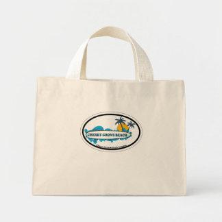 Cherry Grove Beach Canvas Bag