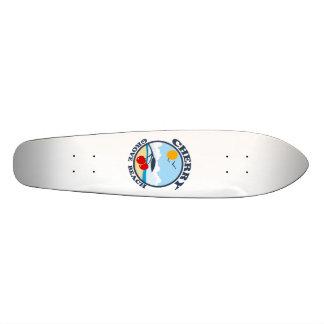 Cherry Grove Beach. Skateboard Deck