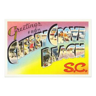 Cherry Grove Beach South Carolina SC Old Postcard- Photo Print