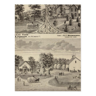 Cherry Grove,  Hillside Farm Postcard