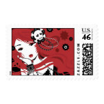 Cherry Gunshot Stamp