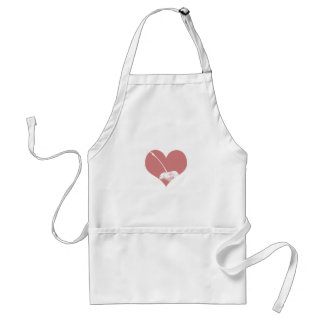 Cherry Heart Adult Apron