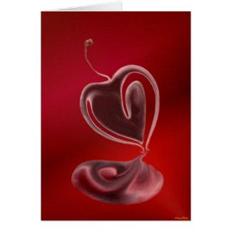 Cherry Heart Card