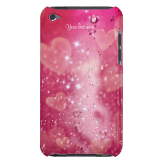 Cherry Heart Sparkle for iPod Touch iPod Case-Mate Case