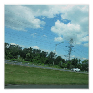 CHERRY Hill NewJersey USA Nature Green Sky Tree 99 Posters