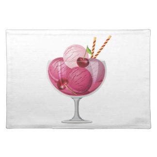Cherry Ice Cream Placemat