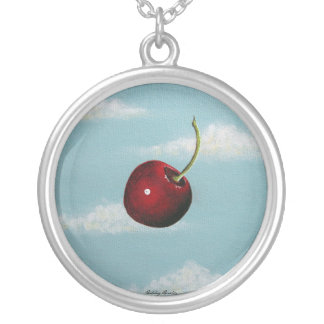 Cherry in the Sky Necklace