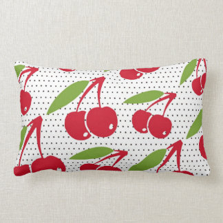 Cherry Jubilee Lumbar Decorative Pillow