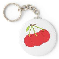 Cherry Keychain Template