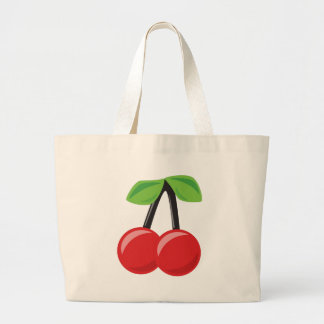 Cherry Large Tote Bag